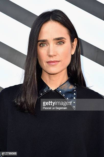 Jennifer Connelly attends the Louis Vuitton show as part of the Paris Fashion Week Womenswear Spring/Summer 2017 on October 5 2016 in Paris France