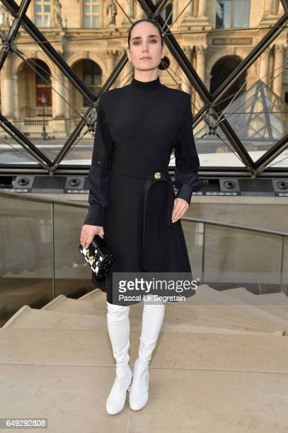 Jennifer Connelly attends the Louis Vuitton show as part of the Paris Fashion Week Womenswear Fall/Winter 2017/2018 on March 7 2017 in Paris France