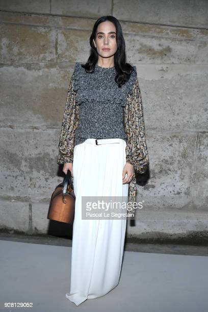 Jennifer Connelly attends the Louis Vuitton show as part of the Paris Fashion Week Womenswear Fall/Winter 2018/2019 on March 6 2018 in Paris France