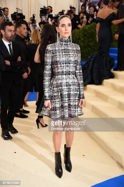 Jennifer Connelly attends the 'Rei Kawakubo/Comme des Garcons Art Of The InBetween' Costume Institute Gala at Metropolitan Museum of Art on May 1...