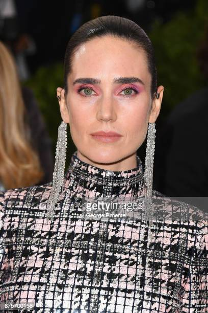 Jennifer Connelly attends the Rei Kawakubo/Comme des Garcons Art Of The InBetween Costume Institute Gala at Metropolitan Museum of Art on May 1 2017...