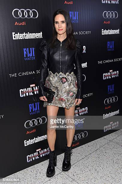 Jennifer Connelly attends the screening Of Marvel's 'Captain America Civil War' hosted by The Cinema Society with Audi FIJI at Henry R Luce...