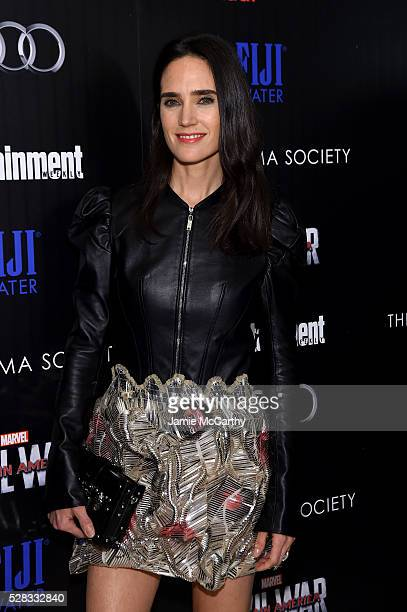 Jennifer Connelly attends the screening Of Marvel's Captain America Civil War hosted by The Cinema Society with Audi FIJI at Henry R Luce Auditorium...