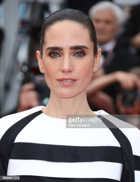 Jennifer Connelly attends the screening of Solo A Star Wars Story during the 71st annual Cannes Film Festival at Palais des Festivals on May 15 2018...