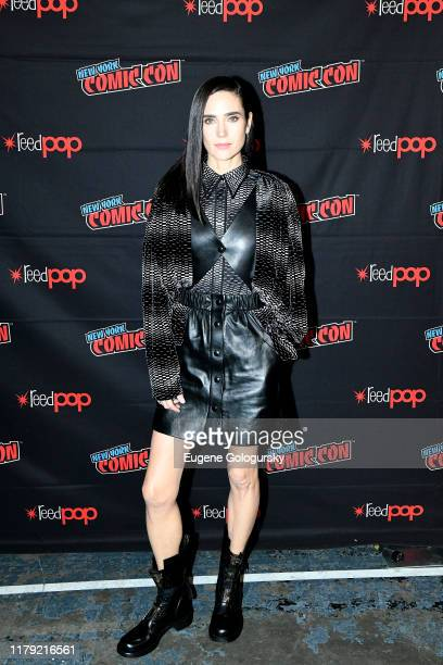 Jennifer Connelly attends the Snowpiercer press line during New York Comic Con at Hammerstein Ballroom on October 05 2019 in New York City