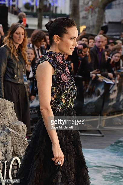 Jennifer Connelly attends the UK Premiere of 'Noah' at Odeon Leicester Square on March 31 2014 in London England