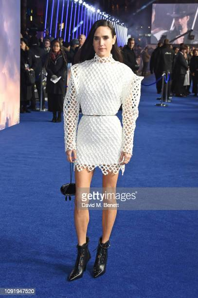 Jennifer Connelly attends the World Premiere of Alita Battle Angel at Odeon Leicester Square on January 31 2019 in London England