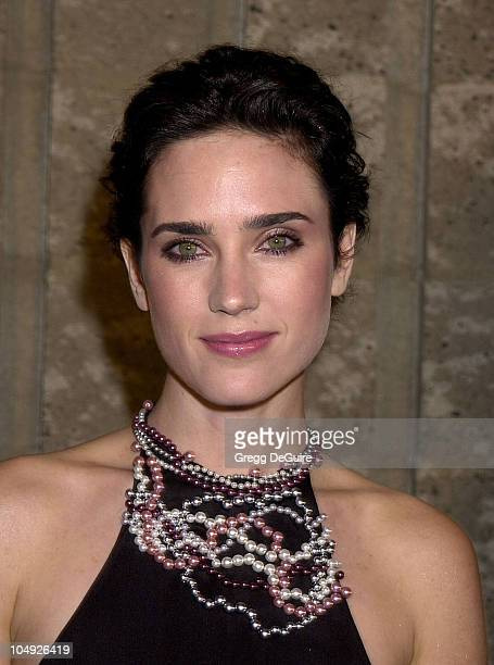 Jennifer Connelly during A Beautiful Mind Premiere at AMPAS Theatre in Beverly Hills California United States