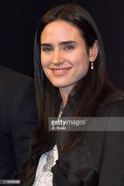 Jennifer Connelly during 'Blood Diamond' Tokyo Press Conference at Grand Hyatt Tokyo in Tokyo Japan