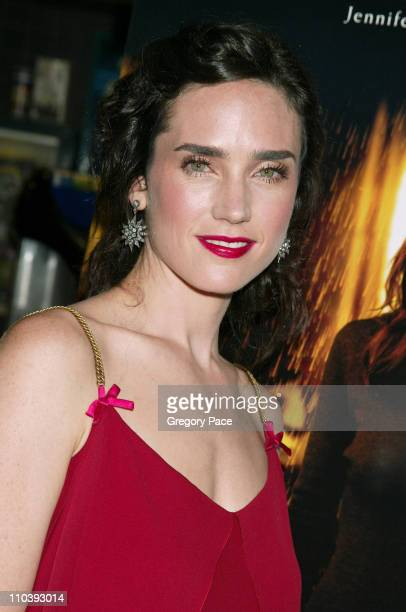 Jennifer Connelly during Dark Water New York City Premiere Inside Arrivals at Clearview Chelsea West Cinema in New York City New York United States