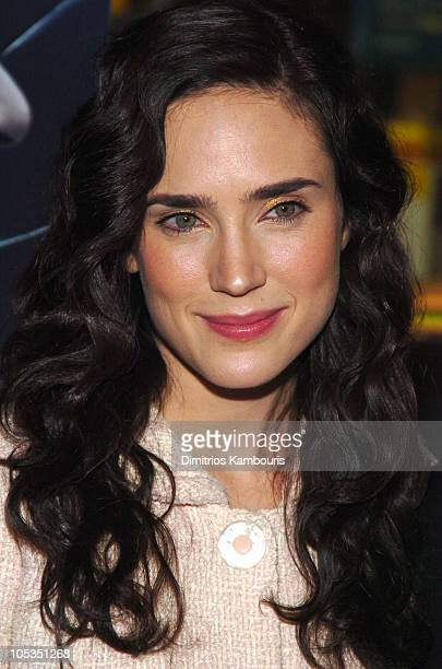 Jennifer Connelly during House of Sand and Fog New York Premiere Arrivals at Chelsea West Theatre in New York City New York United States