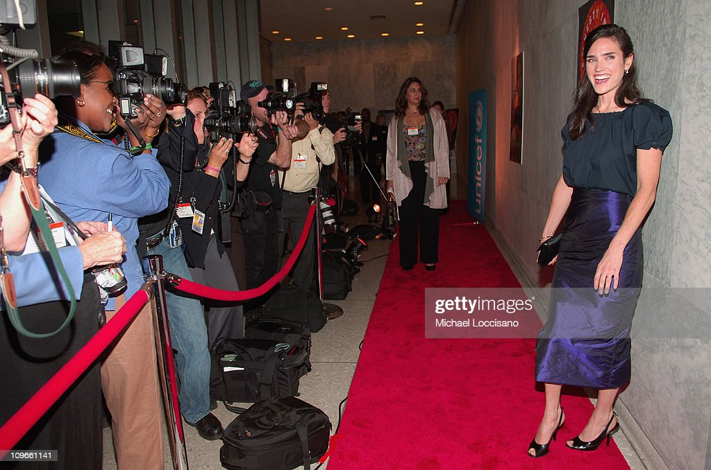 Jennifer Connelly during 'Innocent Voices' Premiere at the United Nations Headquarters at UN Headquarters in New York, NY, United States.