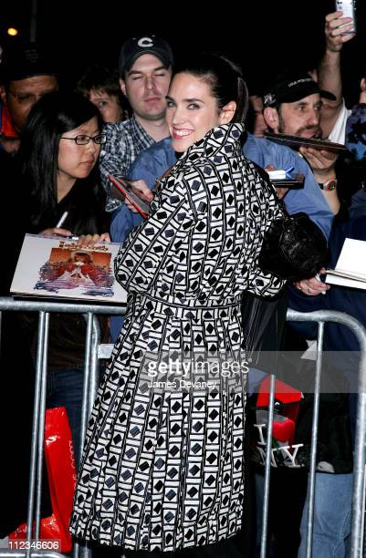 Jennifer Connelly during Jennifer Connelly Visits ''The Late Show With David Letterman'' November 30 2006 at Ed Sullivan Theatre in New York City New...