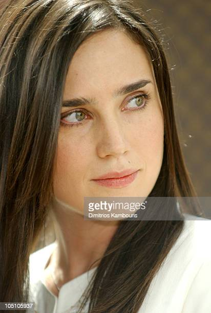 Jennifer Connelly during Louis Vuitton Press Conference for The United Cancer Front Benefit at Louis Vuitton Offices in New York City New York United...