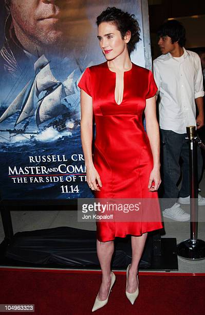 Jennifer Connelly during Master And Commander The Far Side Of The World Los Angeles Premiere at The Academy Of Motion Picture Arts And Sciences in...
