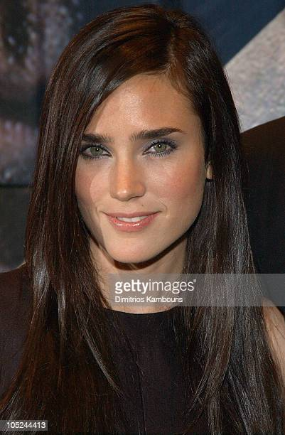 Jennifer Connelly during Master and Commander The Far Side of The World Screening Inside Arrivals at Beekman Theatre in New York City New York United...