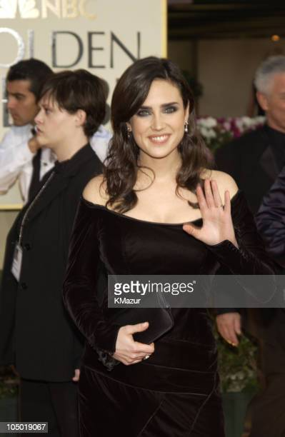 Jennifer Connelly during The 60th Annual Golden Globe Awards Arrivals at The Beverly Hilton Hotel in Beverly Hills California United States