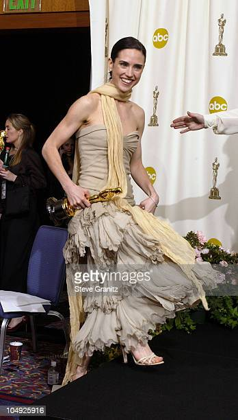 Jennifer Connelly during The 74th Annual Academy Awards Press Room at Kodak Theater in Hollywood California United States