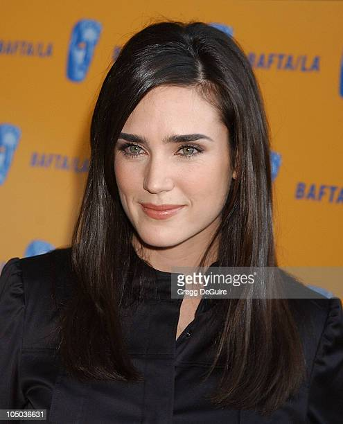 Jennifer Connelly during The 9th Annual BAFTA/LA Tea Party at Park Hyatt Hotel in Los Angeles California United States
