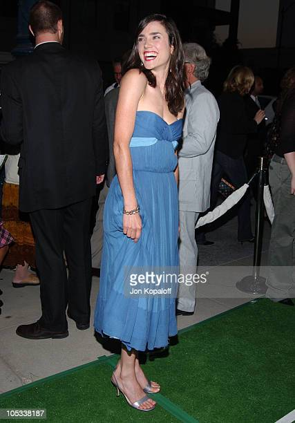 Jennifer Connelly during Wimbledon World Premiere Arrivals at Academy of Motion Picture Arts and Science in Beverly Hills California United States