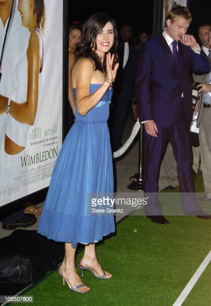 Jennifer Connelly during 'Wimbledon' World Premiere Arrivals at The Academy in Beverly Hills California United States