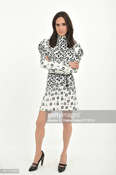 Jennifer Connelly from 'Alfot' appears at the 2015 Tribeca Film Festival Getty Images Studio on April 24 2015 in New York City