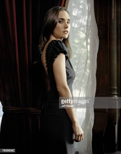 Jennifer Connelly; Jennifer Connelly by Jeff Riedel; Jennifer Connelly, Entertainment Weekly, October 13, 2006; New York; New York.