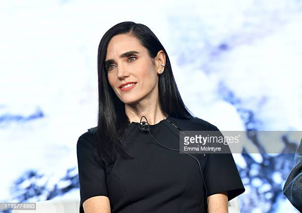 Jennifer Connelly of 'Snowpiercer' appears onstage during the TNT segment of the 2020 Winter Television Critics Association Press Tour at The Langham...