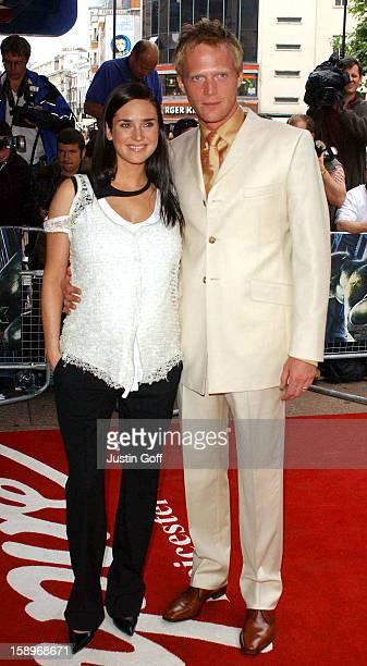 Jennifer Connelly Paul Bettany Attend 'The Hulk' Premiere In London