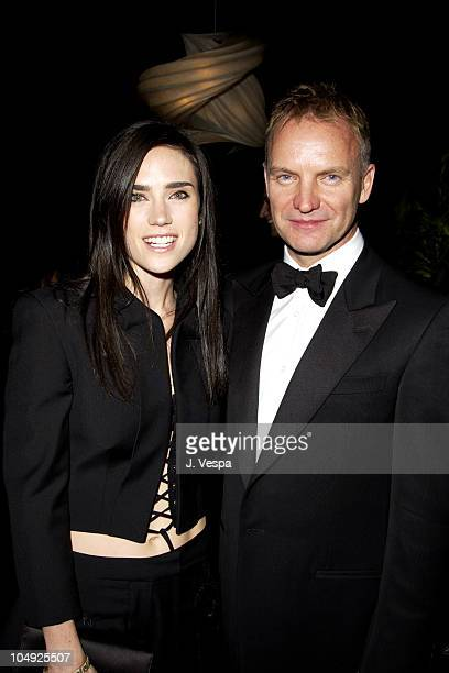 Jennifer Connelly Sting during 8th Screen Actors Guild Awards Backstage Creations Talent Retreat at Shrine Auditorium in Los Angeles California...