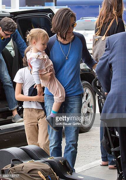 Jennifer Connelly with Agnes Lark Bettany are seen on June 02 2013 in Los Angeles CA