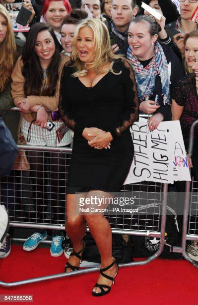 Jennifer Coolidge at the Irish premiere of American Pie The Reunion at the Savoy Cinema in Dublin