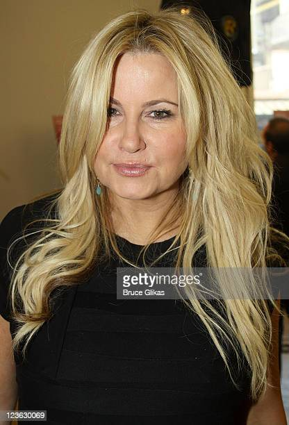 Jennifer Coolidge attends Broadway's Elling meet and greet at the Ballet Tech Rehearsal Studios on October 19 2010 in New York City