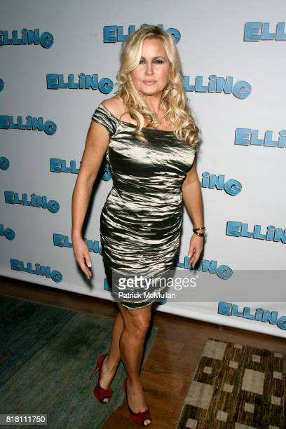 Jennifer Coolidge attends Opening Night for the Broadway Premiere of ELLING at THE ETHEL BARRYMORE THEATRE on November 21 2010 in New York City