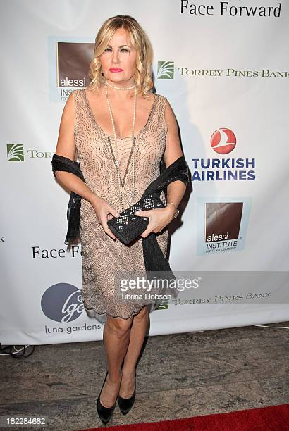 Jennifer Coolidge attends the 4th annual Face Forward LA Gala at Fairmont Miramar Hotel on September 28, 2013 in Santa Monica, California.
