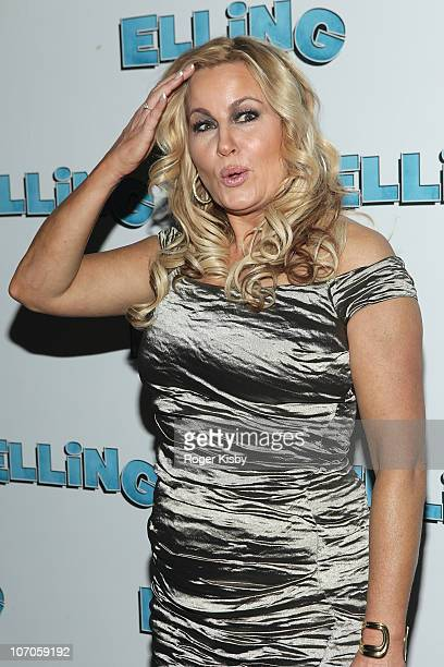 Jennifer Coolidge attends the after party for the Broadway opening night of Elling on November 21 2010 at the Soho House in New York City
