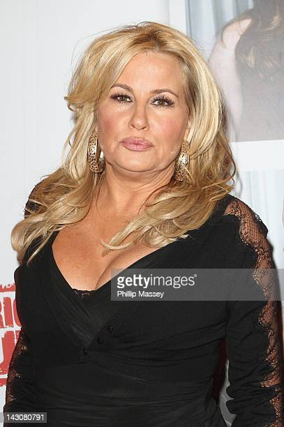 Jennifer Coolidge attends the Ireland premiere of 'American Pie Reunion' at Savoy on April 18 2012 in Dublin Ireland