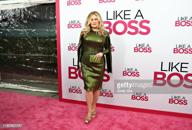 Jennifer Coolidge attends the world premiere of Like A Boss at SVA Theater on January 07 2020 in New York City