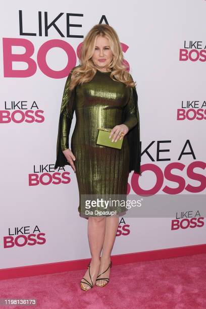"""Jennifer Coolidge attends the world premiere of """"Like A Boss"""" at SVA Theater on January 07, 2020 in New York City."""