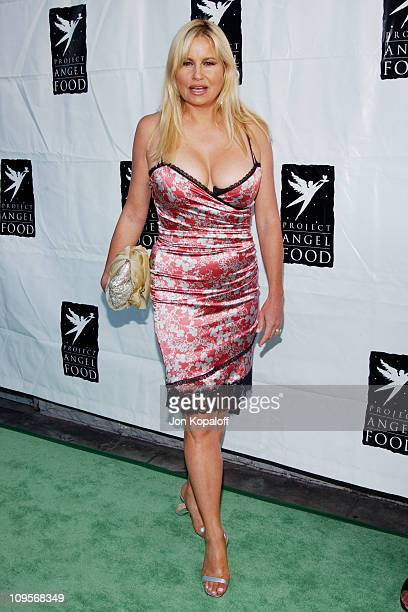 Jennifer Coolidge during 11th Annual Angel Awards Hosted by Project Angel Food Arrivals at Project Angel Food in Hollywood California United States