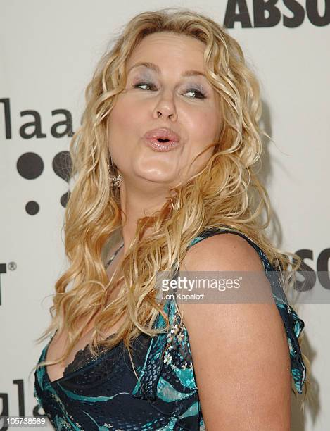 Jennifer Coolidge during 16th Annual GLAAD Media Awards - Arrivals at Kodak Theater in Hollywood, California, United States.