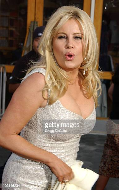 Jennifer Coolidge during American Wedding Premiere in Universal City California United States