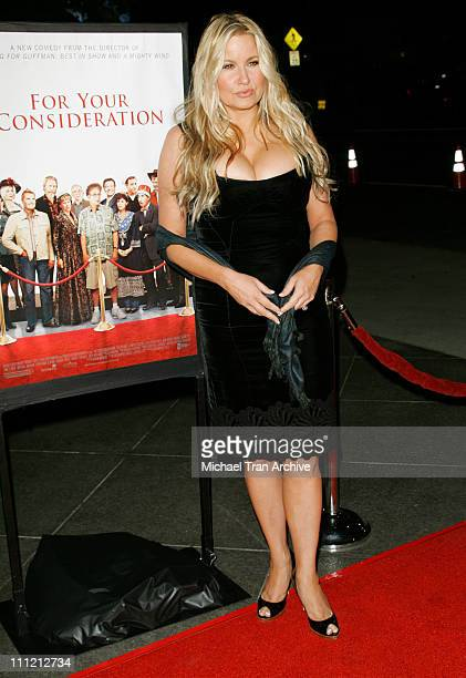 Jennifer Coolidge during For Your Consideration Los Angeles Premiere Arrivals at Director's Guild of America in Los Angeles California United States