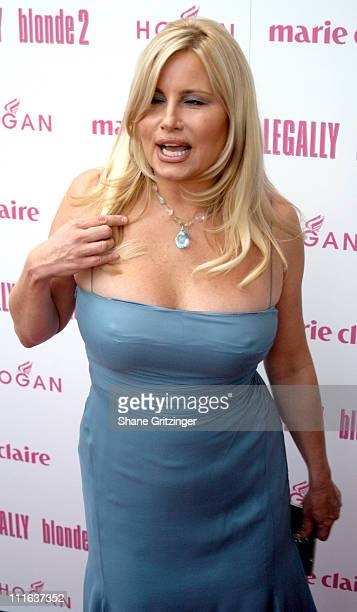 Jennifer Coolidge during Legally Blonde 2 Red White Blonde Special Screening at United Artists Southampton Theater in Southampton New York United...