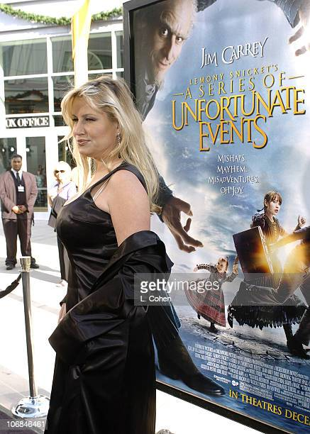 Jennifer Coolidge during Lemony Snicket's A Series of Unfortunate Events Los Angeles Premiere Red Carpet at Cinerama Dome in Los Angeles California...