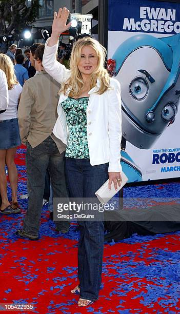 Jennifer Coolidge during 'Robots' Los Angeles Premiere Arrivals at Mann Village Theatre in Westwood California United States