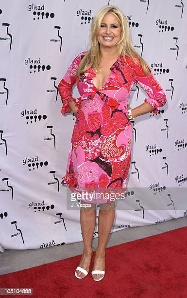 Jennifer Coolidge during The 14th Annual GLAAD Media Awards Los Angeles - VIP Reception at Kodak Theatre in Hollywood, California, United States.