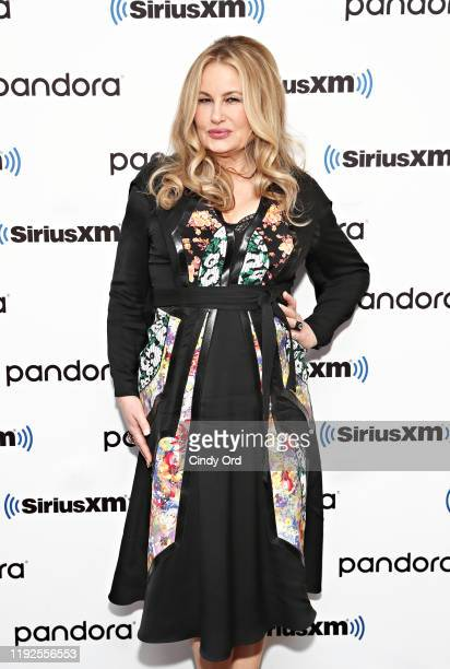 Jennifer Coolidge poses for a photo during SiriusXM's Town Hall with the cast of 'Like A Boss' hosted by Hoda Kotb at the SiriusXM Studio on January...