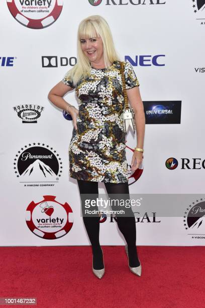 Jennifer Cox attends the 8th Annual Variety Children's Charity of SoCal Texas Hold 'Em Poker Tournament at Paramount Studios on July 18 2018 in Los...