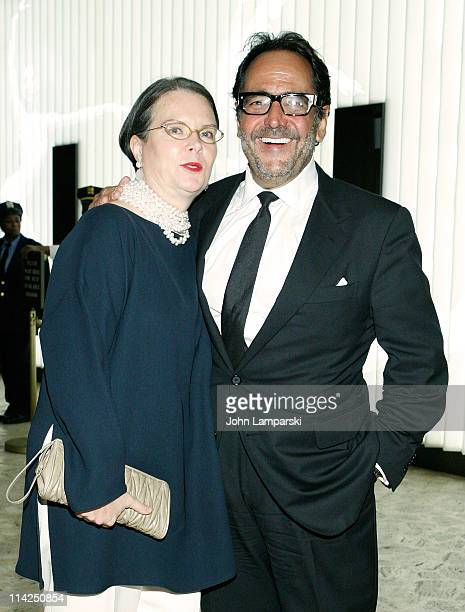 Jennifer Crandall and Richard Story attend Literacy Partners' 27th annual Evening of Readings gala at David H Koch Theater Lincoln Center on May 16...